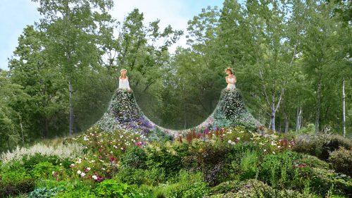Dress Garden TWIN 2017 @ 大雪 森のガーデン 森の花園エリア